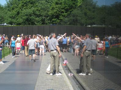 Vietnam Veterans Memorial Washington, DC May 2012